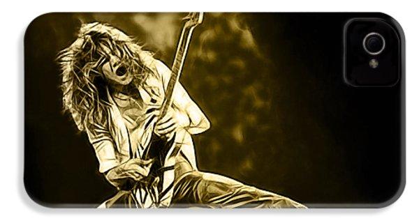 Van Halen Eddie Van Halen Collection IPhone 4 Case by Marvin Blaine