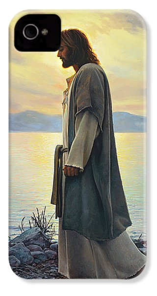 Walk With Me  IPhone 4 Case by Greg Olsen