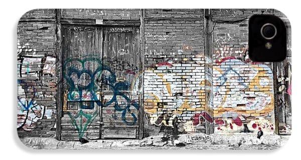 Warehouse In Lisbon IPhone 4 Case by Ehiji Etomi