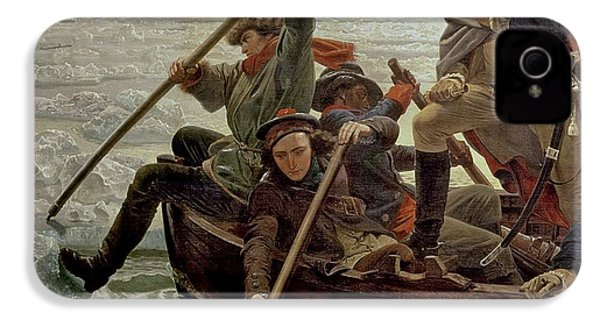 Washington Crossing The Delaware River IPhone 4 Case by Emanuel Gottlieb Leutze