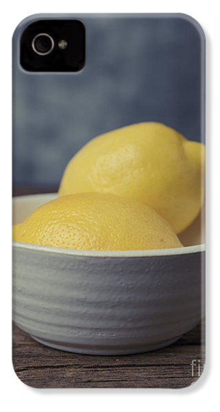 When Life Gives You Lemons IPhone 4 / 4s Case by Edward Fielding