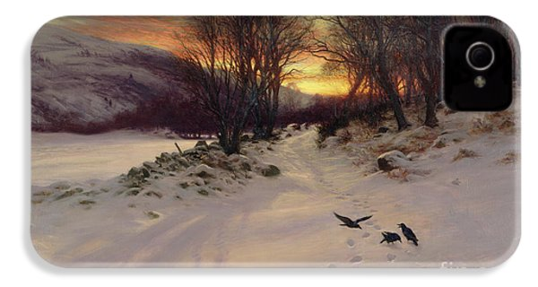 When The West With Evening Glows IPhone 4 / 4s Case by Joseph Farquharson
