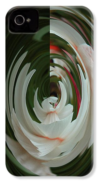 White Form IPhone 4 Case