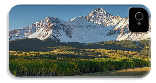 IPhone 4 Case featuring the photograph Wilson Peak Panorama by Aaron Spong