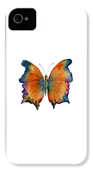 1 Wizard Butterfly IPhone 4 Case by Amy Kirkpatrick
