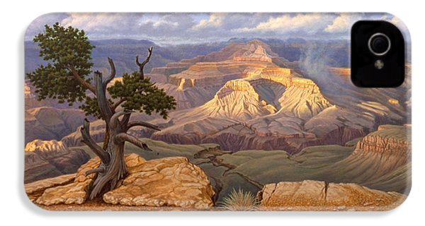 Zoroaster Temple From Yaki Point IPhone 4 / 4s Case by Paul Krapf