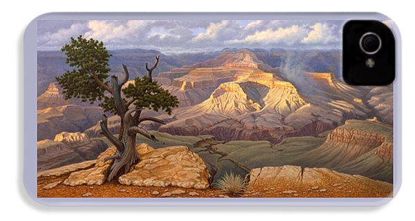 Zoroaster Temple From Yaki Point IPhone 4 Case