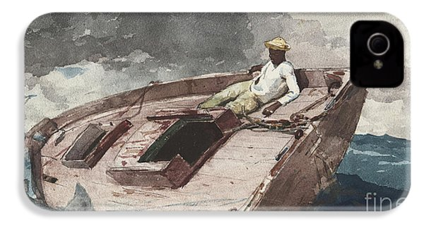 The Gulf Stream IPhone 4 / 4s Case by Winslow Homer
