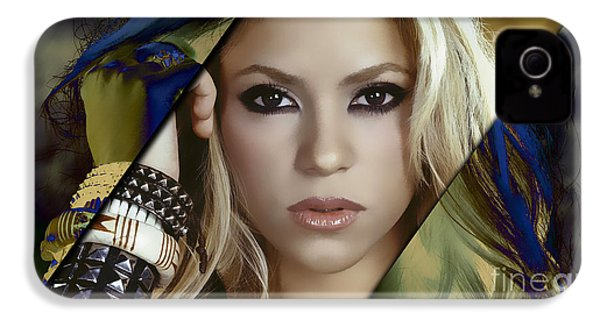 Shakira Collection IPhone 4 Case