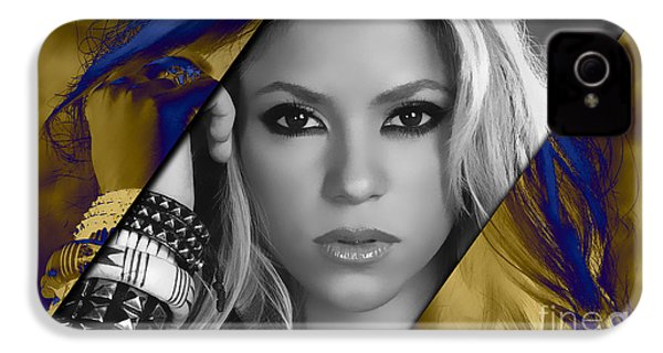 Shakira Collection IPhone 4 Case by Marvin Blaine