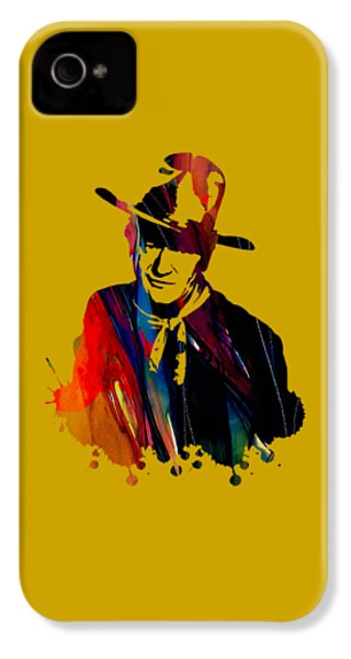 John Wayne Collection IPhone 4 / 4s Case by Marvin Blaine