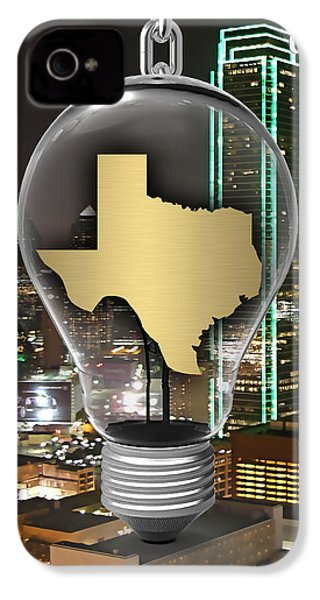 Texas State Map Collection IPhone 4 / 4s Case by Marvin Blaine