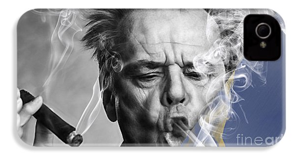 Jack Nicholson Collection IPhone 4 Case by Marvin Blaine