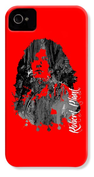 Robert Plant Collection IPhone 4 Case by Marvin Blaine