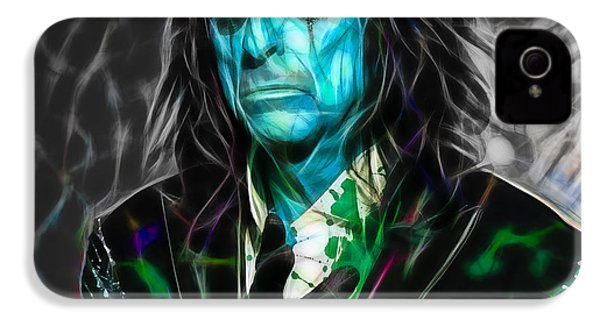 Alice Cooper Collection IPhone 4 Case by Marvin Blaine