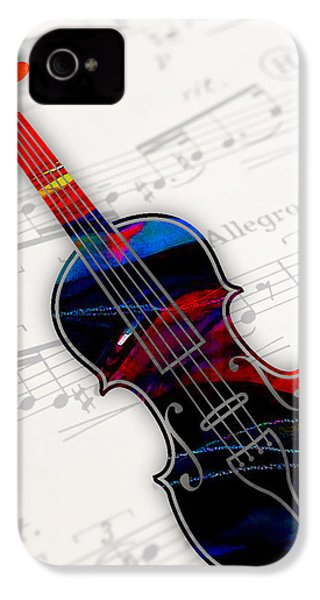 Violin Collection IPhone 4 Case by Marvin Blaine