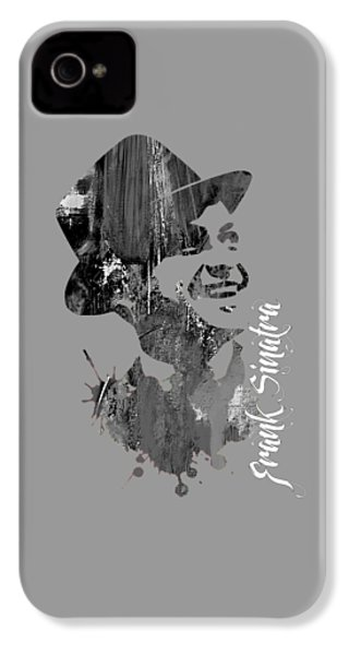 Frank Sinatra Collection IPhone 4 Case by Marvin Blaine