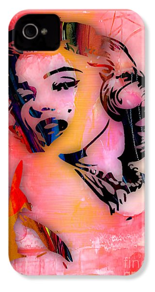 Marilyn Monroe Collection IPhone 4 Case