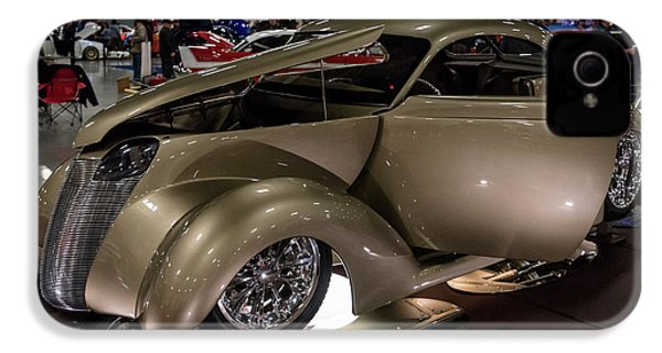 1937 Ford Coupe IPhone 4 Case by Randy Scherkenbach