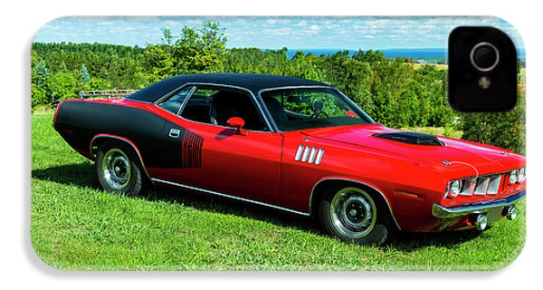 1971 Plymouth IPhone 4 Case by Performance Image