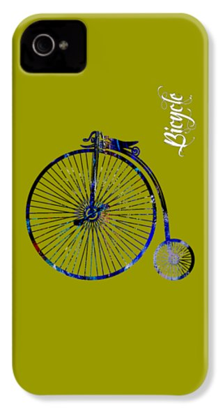 Bicycle Collection IPhone 4 Case by Marvin Blaine