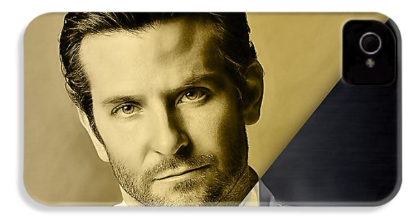 Bradley Cooper Collection IPhone 4 Case by Marvin Blaine