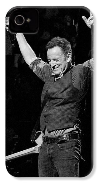 Bruce Springsteen IPhone 4 Case by Jeff Ross