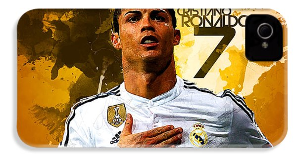 Cristiano Ronaldo IPhone 4 Case