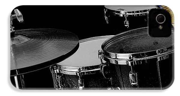 Drums Collection IPhone 4 / 4s Case by Marvin Blaine