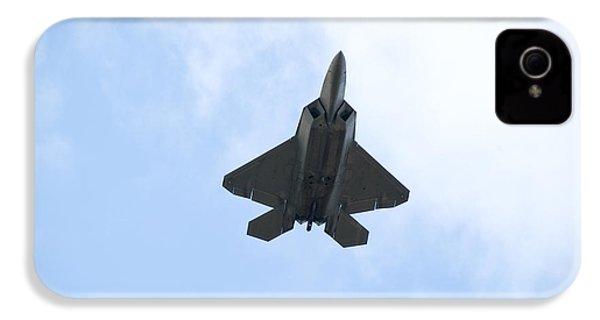 F-22 Raptor IPhone 4 Case by Sebastian Musial