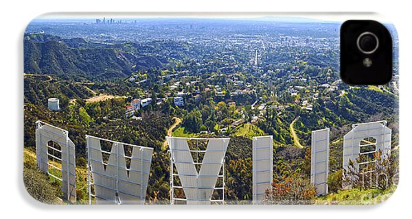 Iconic Hollywood  IPhone 4 Case by Art K