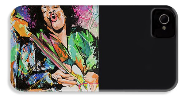 Jimi Hendrix IPhone 4 Case by Richard Day