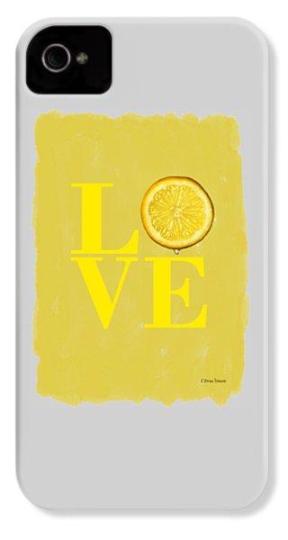 Lemon IPhone 4 Case by Mark Rogan