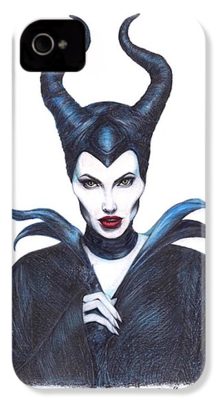 Maleficent  Once Upon A Dream IPhone 4 Case by Kent Chua