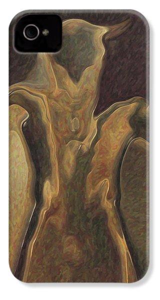 Minotaur  IPhone 4 Case by Quim Abella