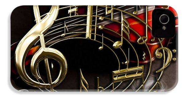 Musical Collection IPhone 4 / 4s Case by Marvin Blaine