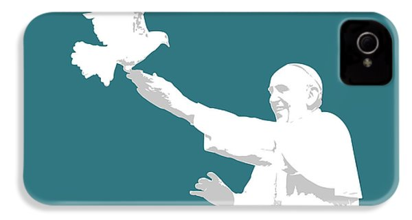 Pope Francis IPhone 4 Case