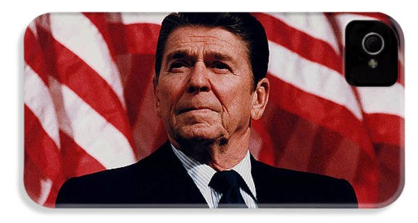 President Ronald Reagan IPhone 4 Case by War Is Hell Store