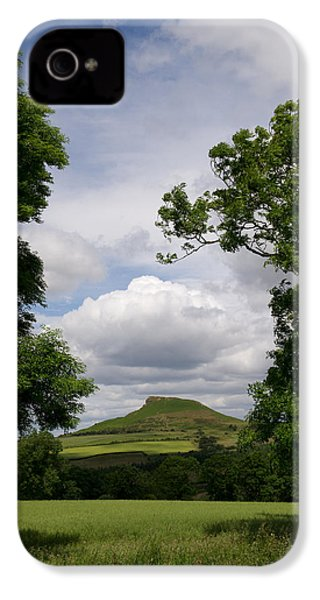Roseberry Topping IPhone 4 Case by Gary Eason