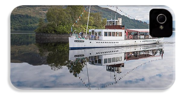 Steamship Sir Walter Scott On Loch Katrine IPhone 4 Case