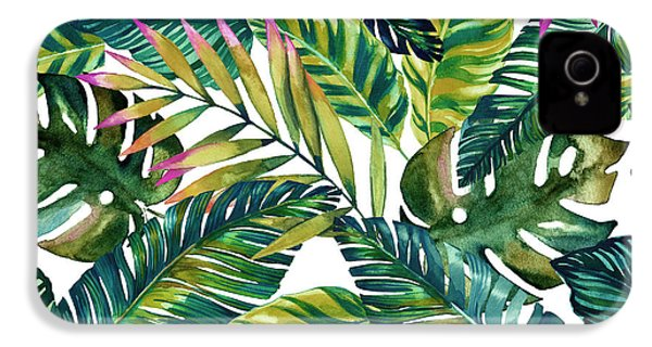 Tropical  IPhone 4 / 4s Case by Mark Ashkenazi