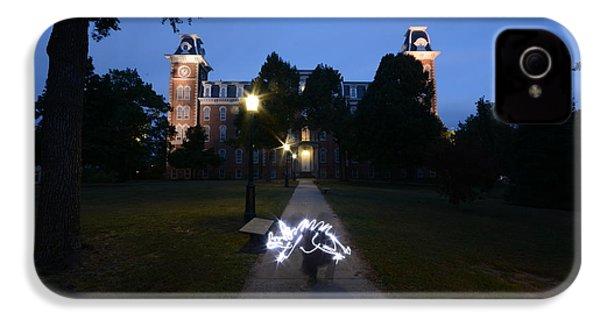 University Of Arkansas IPhone 4 Case by Chris  Look