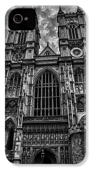 Westminster Abbey IPhone 4 Case by Martin Newman