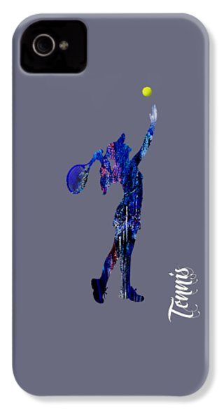 Womens Tennis Collection IPhone 4 / 4s Case by Marvin Blaine