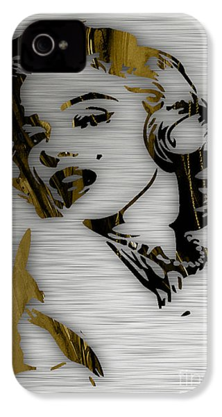 Marilyn Monroe Collection IPhone 4 Case by Marvin Blaine
