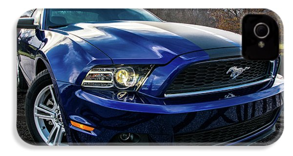IPhone 4 Case featuring the photograph 2014 Ford Mustang by Randy Scherkenbach