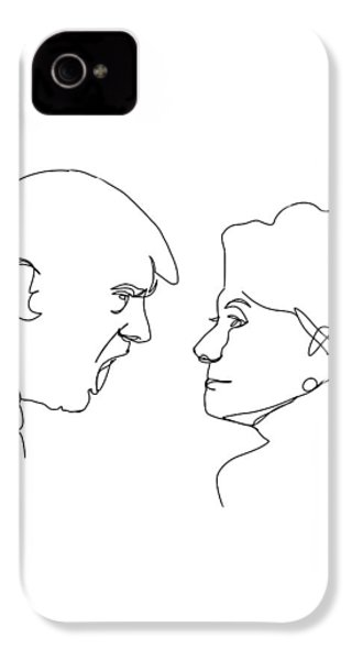 2016 Election IPhone 4 / 4s Case by Harold Belarmino