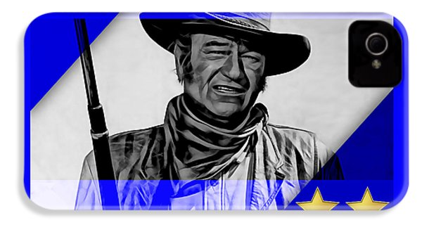 John Wayne Collection IPhone 4 Case by Marvin Blaine