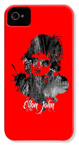 Elton John Collection IPhone 4 Case by Marvin Blaine