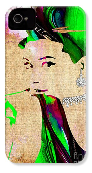 Audrey Hepburn Collection IPhone 4 Case by Marvin Blaine